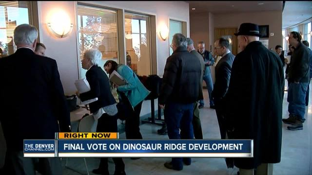 Jefferson County commissioners hold public meeting on proposed Dinosaur…