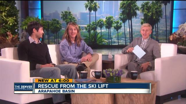 Man rescued from Arapahoe Basin chairlift and his rescuer recount story…