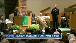 Hundreds meet about new Denver Police policy