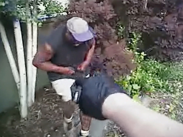 Denver police use Taser on unarmed- homeless man