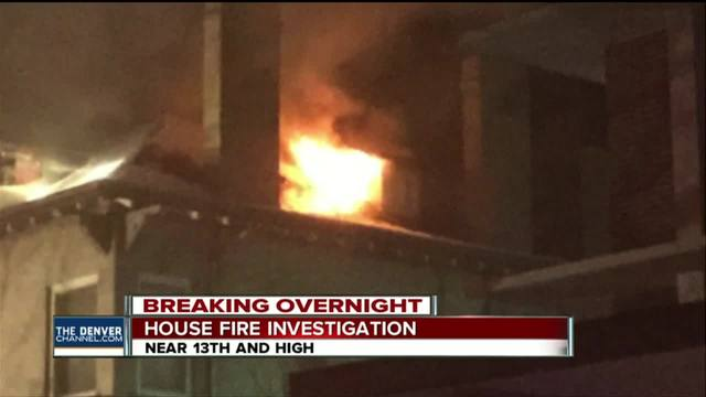 Denver house fire