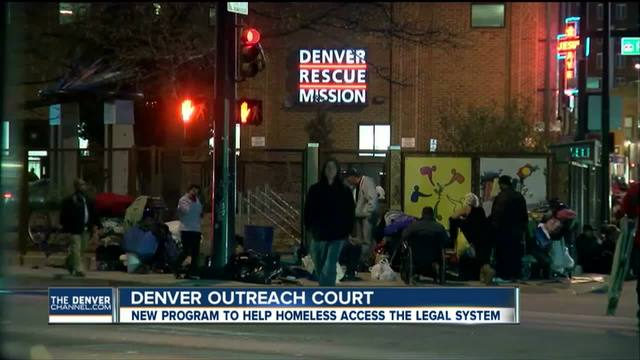 Denver offering legal help to the homeless