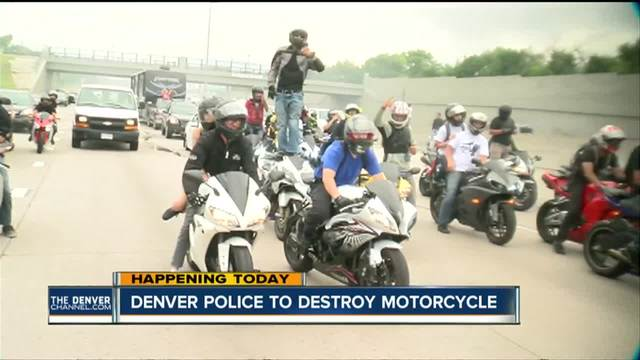 Police to crush motorcycle from -Kill da Streetz- rally