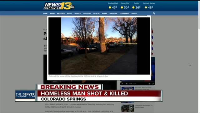 Police- Colorado Springs resident shoots- kills intruder
