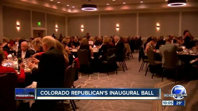 Colorado Republicans- inaugural ball