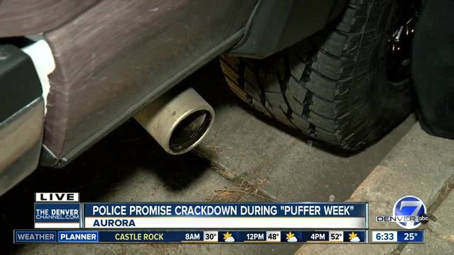 Law enforcement cracking down on -puffers-