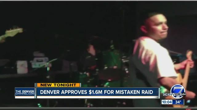 Denver agrees to pay -1-6 million for wrongful raid of home