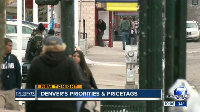 Denver City Council to prioritize infrastructure- homelessness- business…