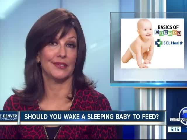 Should You Wake a Sleeping Baby to Feed?