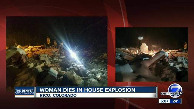 Home explodes in Dolores County- 1 dead