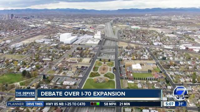 Debate over I-70 expansion plan