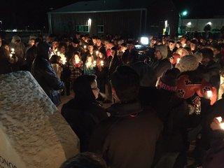 Bennett: Vigil held for 2 teens killed in crash