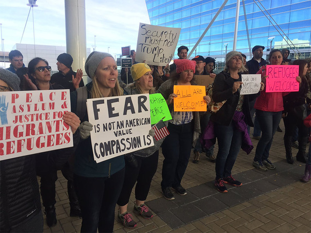 Judge- Last-minute protests at DIA