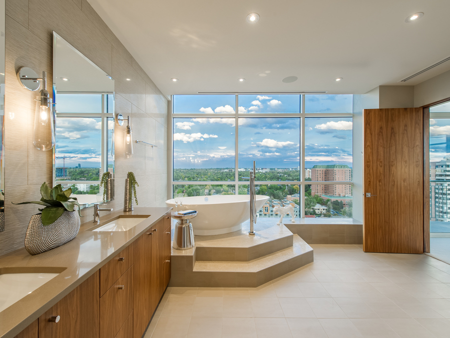 Extreme homes of colorado 4m penthouse offers for Channel 4 bathroom design ideas