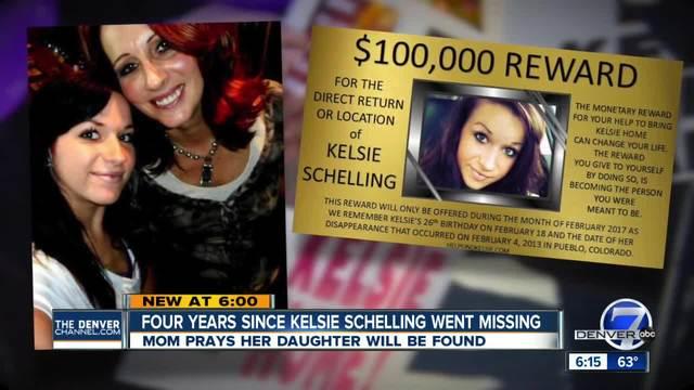 Police searching former home of Kelsie Schelling's boyfriend