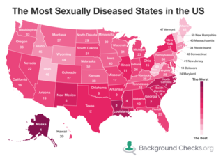 Colorado ranked 27th in US for STDs, NM #5