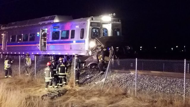 Driver of SUV killed in crash with A Line RTD train