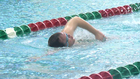 Special Olympics swim team dives right in