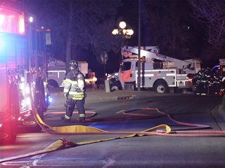 Gas line break: Hotel told to shelter in place