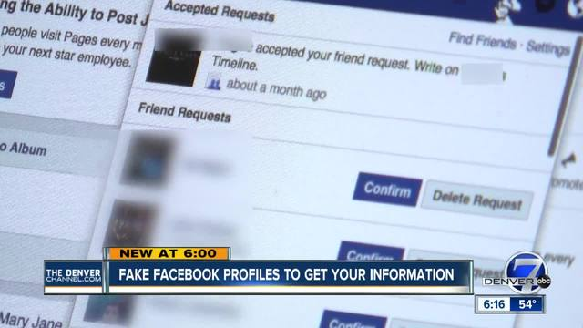 Beware of fake Facebook profiles posing as people you know