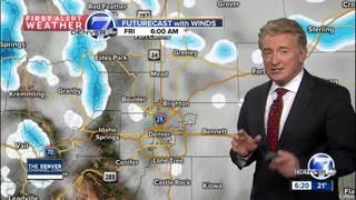 Cold air returns to Colorado