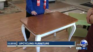 Thrify mom: Up-cycling furniture