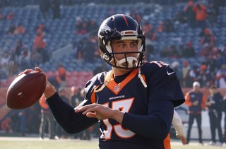 Siemian says left shoulder recovery 'going well'