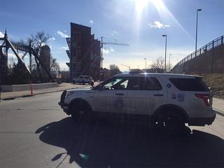 DPD: No threat found near construction site