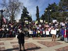 Pro-Obamacare rally held at Civic Center Park