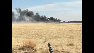 Evacuations ordered due to fire near Hanover