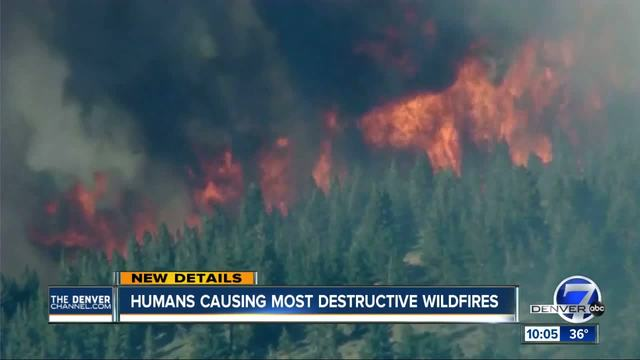 Cause of most US wildfires traced to people- CU-based study finds