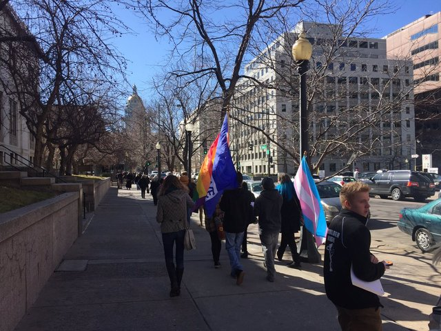 Gay rights advocates push for ban on conversion therapy for minors in Colorado