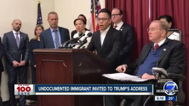 Longmont undocumented immigrant will be in Congress when Trump speaks