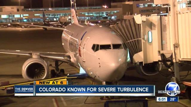 Air turbulence common when flying in Colorado