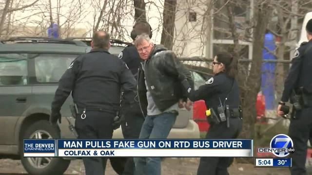 Suspect arrested after police surround RTD bus on West Colfax in Lakewood