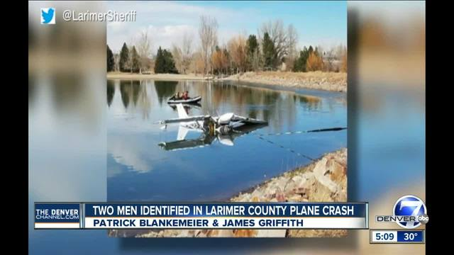 Pilot and passenger who died in Colo- plane crash identified