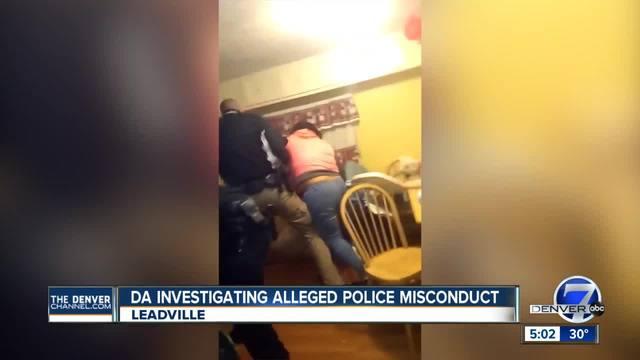 DA investigates use of force after video of Leadville arrest