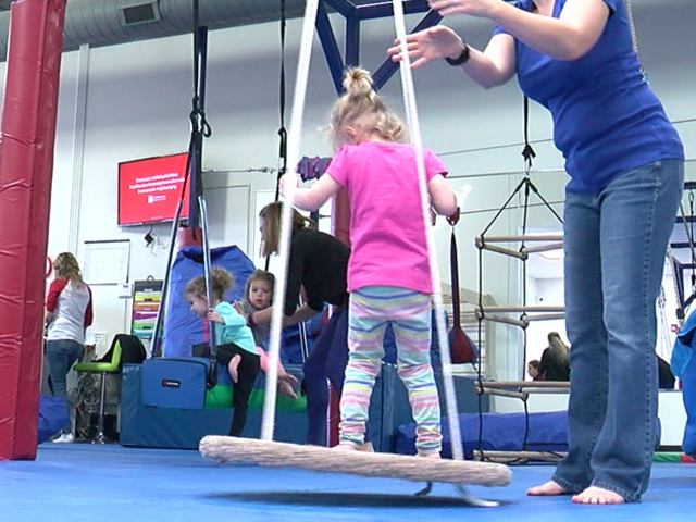 New autism-friendly gym for kids in Arvada