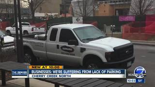 Construction hurting shop owners in Cherry Creek