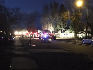 Denver home partially collapses after explosion