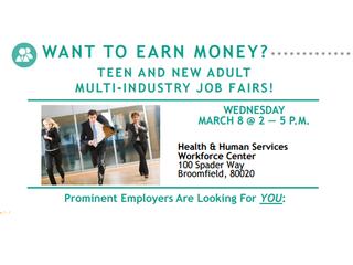 Working Wednesday: Job fair for teens