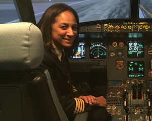 Woman is first African-American female captain