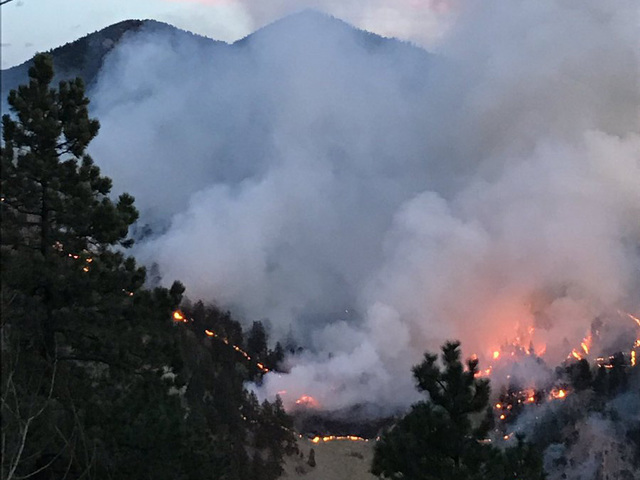 Sunshine Fire in Boulder County likely caused by campfire at transient…