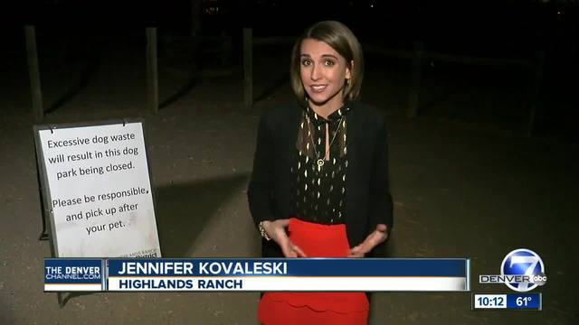 Too much poop could close Hound Hill dog park in Highlands Ranch