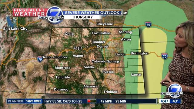 Warm - dry now- but changes late this week-