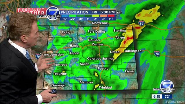 Rain beginning tonight- snow overnight