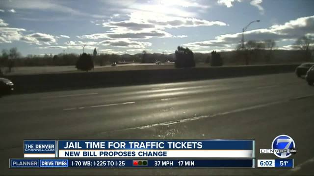 Jail time for traffic tickets could end
