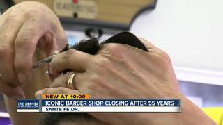 Longtime barber selling classic shop on Santa Fe