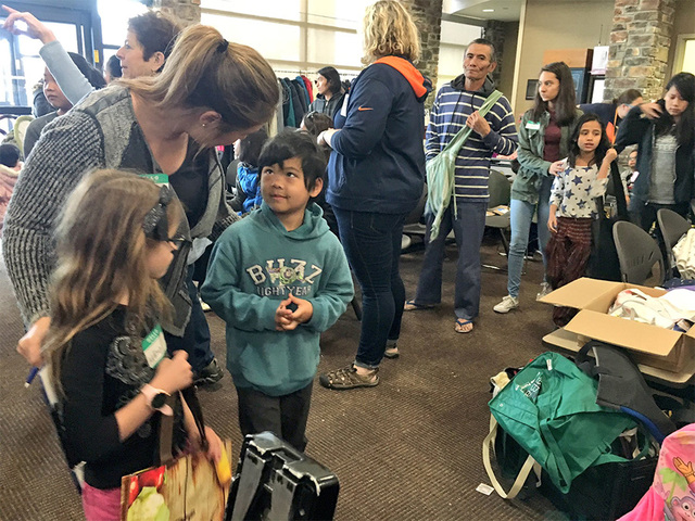 Refugee kids given necessities at R-O-C-K- event