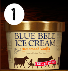 Gallery: Top 7 Blue Bell Ice Cream flavors